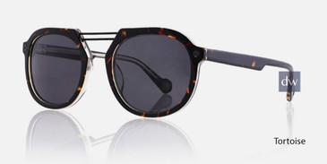 Tortoise Kingsley AUGUST KRS021 Sunglasses.
