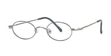 Gunmetal Blue Elan 9203 Eyeglasses.