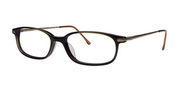 Deep Brown Elan 9225 Eyeglasses.