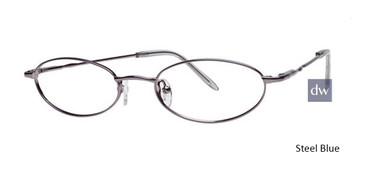 Steel Blue Elan 9236 Eyeglasses - Teenager