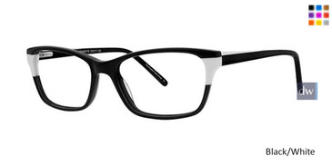 Black/White Vavoom 8070 Eyeglasses