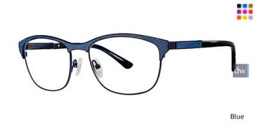 Blue Vavoom 8076 Eyeglasses