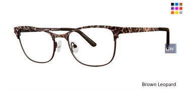 Brown Leopard Vavoom 8079 Eyeglasses