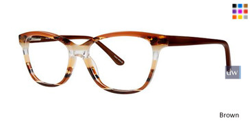 Brown Vavoom 8083 Eyeglasses