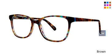Brown Vavoom 8088 Eyeglasses
