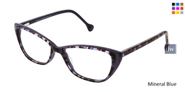Mineral Blue Lisa Loeb LL186 Angel Eyeglasses