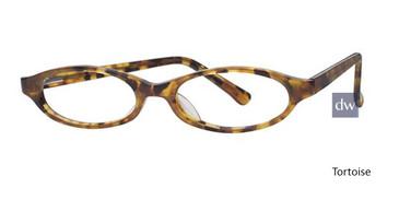 Tortoise Elan 9251 Eyeglasses - Teenager