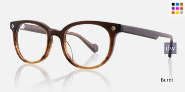 Burnt Kingsley FINN KR022 Eyeglasses - Teenager.