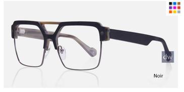 Noir Kingsley SLOAN KR014 Eyeglasses.