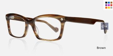Brown Kingsley KLOE KR001 Eyeglasses.