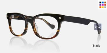 Black Kingsley CHARLIE KR003 Eyeglasse.