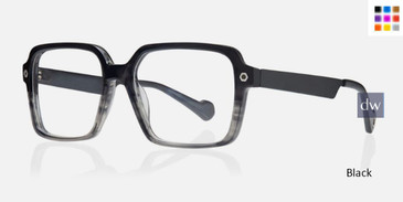 Black Kingsley ROWAN KR004 Eyeglasses.