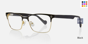 Black Kingsley KENNEDY KR006 Eyeglasses.