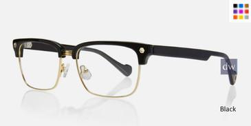 Black Kingsley FRANKIE KR007 Eyeglasses.