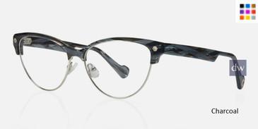 Charcoal Kingsley SIERRA KR010 Eyeglasses.