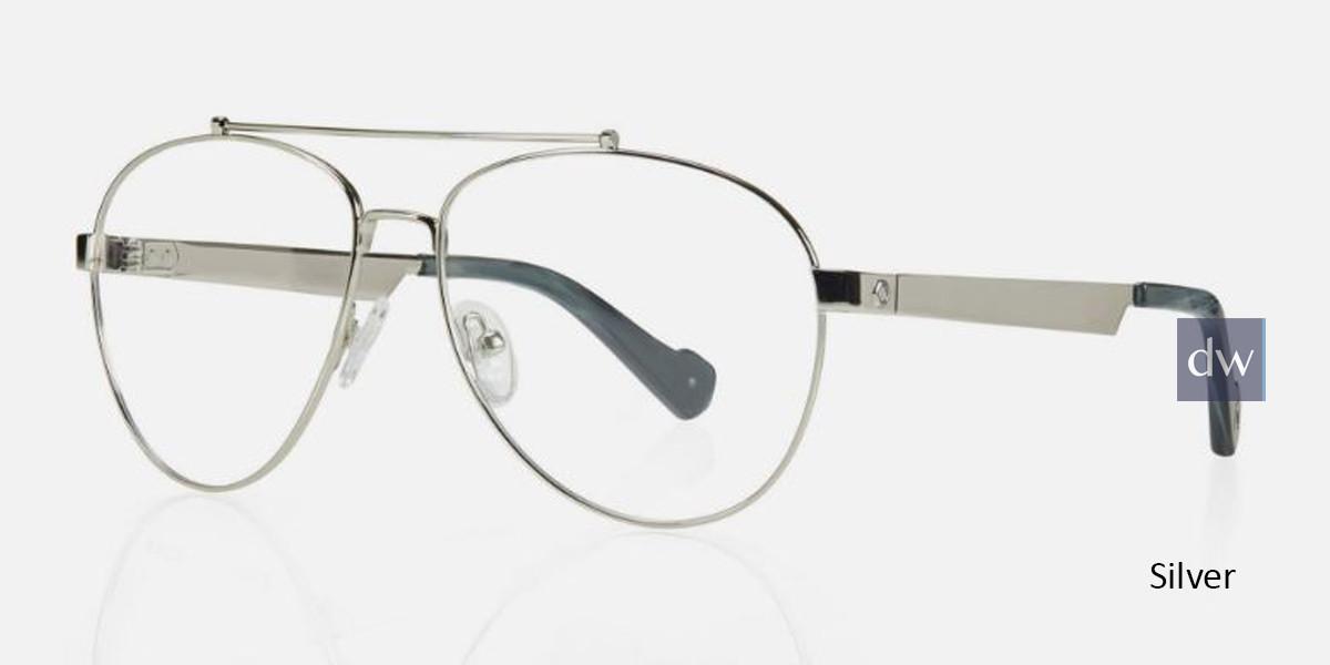 Silver Kingsley BECKETT KR012 Eyeglasses.