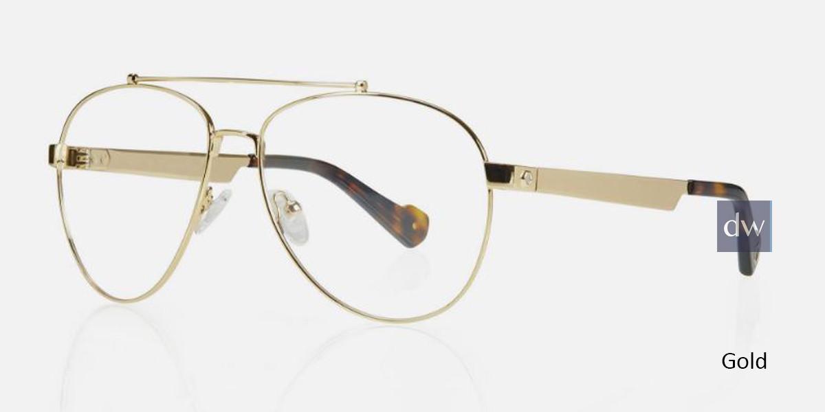 Gold Kingsley BECKETT KR012 Eyeglasses.