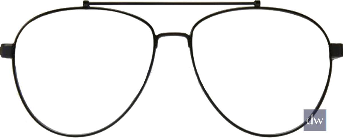 Black Kingsley BECKETT KR012 Eyeglasses.