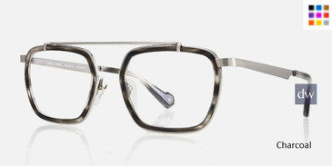 Charcoal Kingsley BENNY KR024 Eyeglasses.