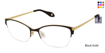 Black Gold Fysh 3612 Eyeglasses.