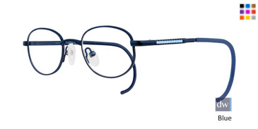 Blue Eight To Eighty Angel Eyeglasses