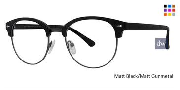 Black Matt/Gunmetal Vivid 258 Eyeglasses