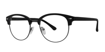 Matt Black/Matt Gunmetal Vivid Collection 258 Eyeglasses