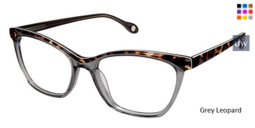 Grey Leopard Fysh 3603 Eyeglasses.