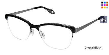Crystal Black Fysh 3598 Eyeglasses.