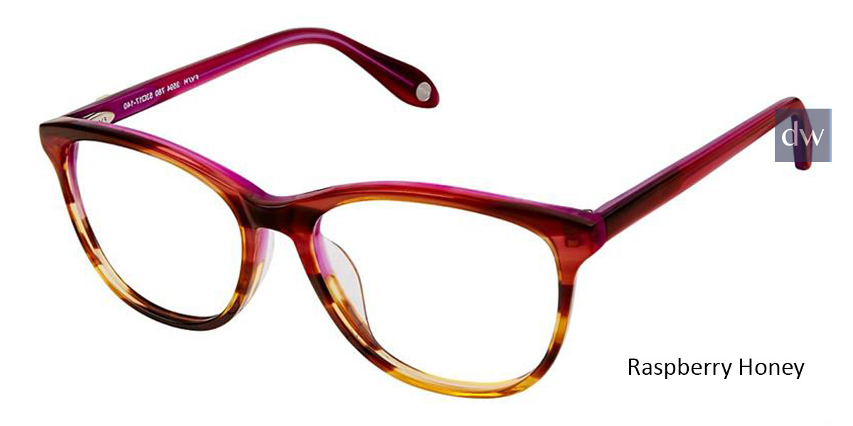 Raspberry Honey Fysh 3594 Eyeglasses.