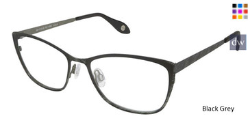 Black Grey Fysh 3579 Eyeglasses.