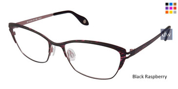 Black Raspberry Fysh 3577 Eyeglasses.