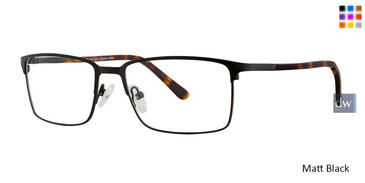 Matt Black Vivid 395 Eyeglasses