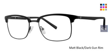 Matt Black/Dark Gun Rim Vivid 262 Eyeglasses.