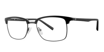 Matt Black/Dark Gun Rim Vivid Collection 262 Eyeglasses.