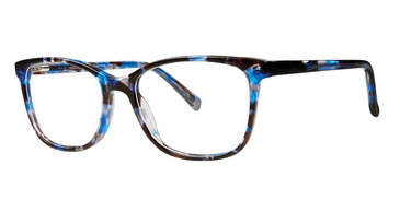 Demi Blue Vivid Splash 67 Eyeglasses