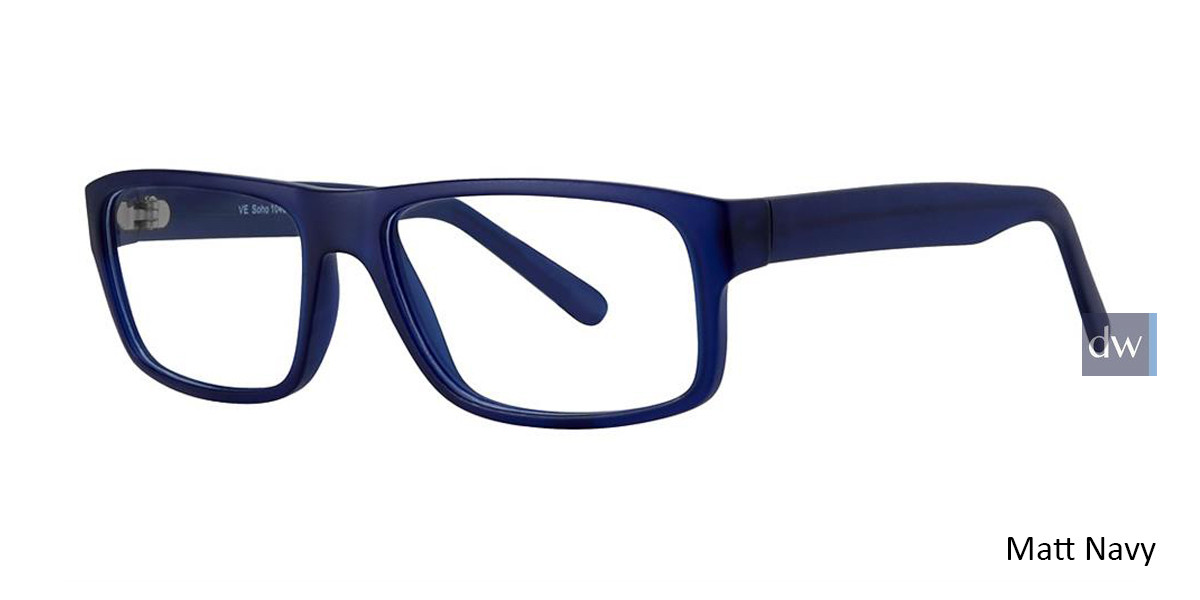 Matt Navy Vivid Soho 1040 Eyeglasses