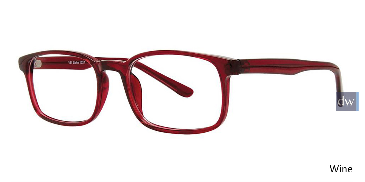 Wine Vivid Soho 1037 Eyeglasses