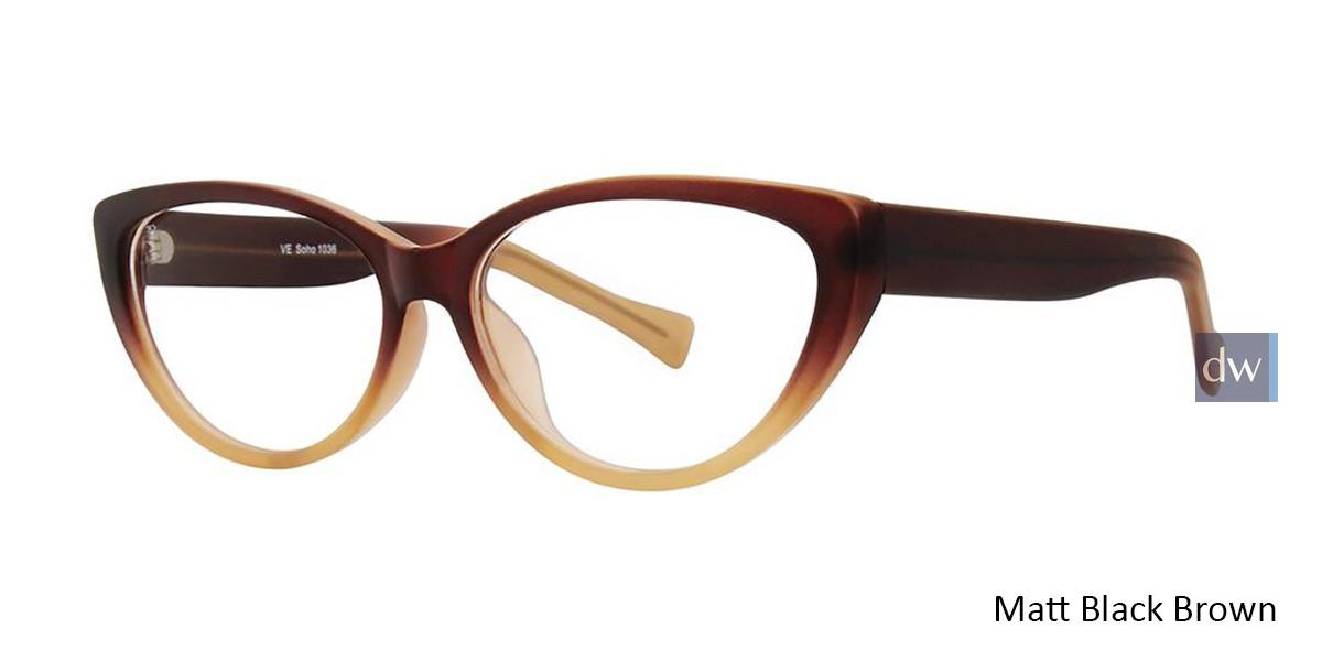 Matt Black Green Vivid Soho 1036 Eyeglasses
