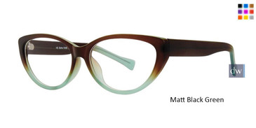 Matt Black Green Vivid Soho 1036 Eyeglasses