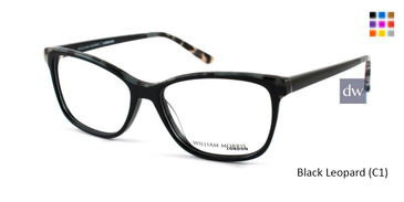Black Leopard (C1) William Morris London WM50043 Eyeglasses