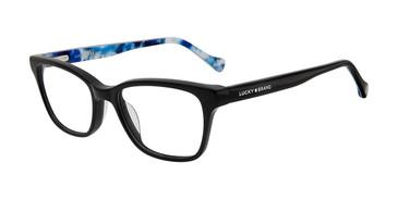 Black Lucky Kid D712 Eyeglasses.