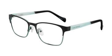 Black Lucky Kid D715 Eyeglasses - Teenager