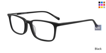Matte Black Lucky Kid D811 Eyeglasses - Teenager