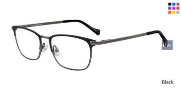 Black Lucky Kid D812 Eyeglasses - Teenager