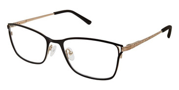 Black Gold Superflex Titan SF-1094T Eyeglasses.