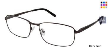 Black Gun Superflex Titan SF-1091T Eyeglasses.