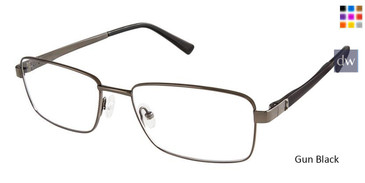 Gun Black Superflex Titan SF-1089T Eyeglasses.
