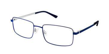 Navy Gun Superflex Titan SF-1082T Eyeglasses.