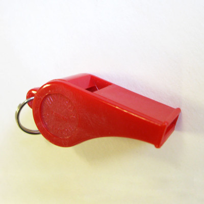 Windsor Colored Plastic Whistle